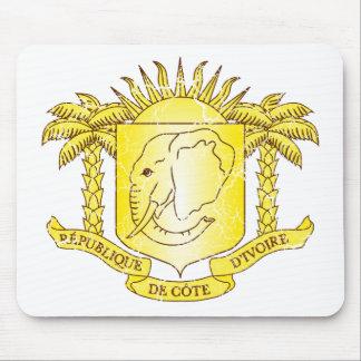 象牙海岸の紋章付き外衣 マウスパッド