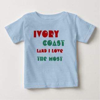 象牙海岸 ベビーTシャツ