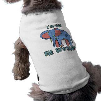 象私はお兄さん犬のワイシャツです ペット服