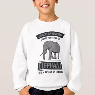 象 スウェットシャツ