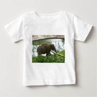 象 ベビーTシャツ