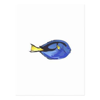 豪奢で青い独特の味 ポストカード