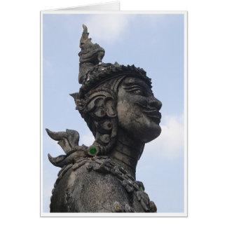 豪奢な彫像 カード