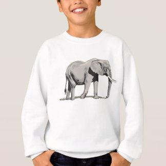 豪奢な象 スウェットシャツ