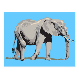 豪奢な象 ポストカード