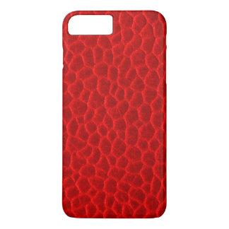 豪華で赤い革質 iPhone 8 PLUS/7 PLUSケース