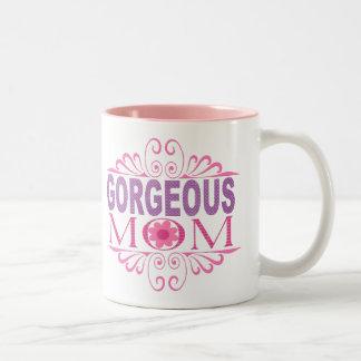 豪華なお母さん ツートーンマグカップ