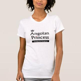 豪華なアンゴラ人のプリンセスのティー Tシャツ
