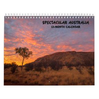 豪華なオーストラリアの景色のカレンダー- 3つのサイズ カレンダー