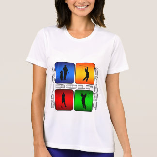 豪華なゴルフ Tシャツ