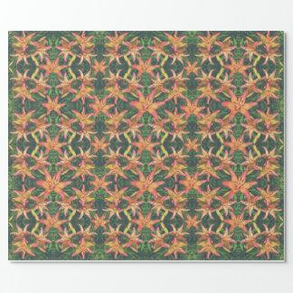 豪華なツツジ花パターン包装紙 ラッピングペーパー