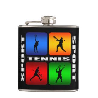 豪華なテニスのスポーツのスキットル フラスク