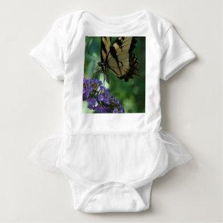 豪華なトラのアゲハチョウの蝶 ベビーボディスーツ