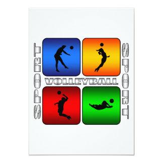 豪華なバレーボール カード