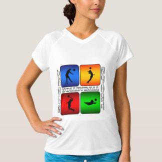 豪華なバレーボール Tシャツ