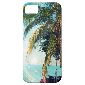 豪華なビーチのiPhone 5の場合 iPhone SE/5/5s ケース