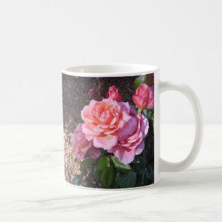 豪華なピンクのバラ! コーヒーマグカップ