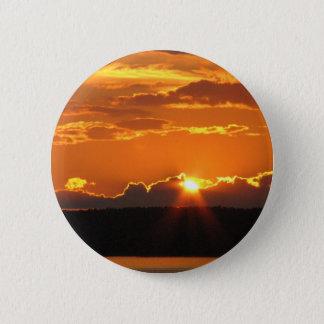 豪華な日没 5.7CM 丸型バッジ