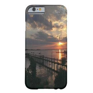 豪華な海の入口のiPhoneの場合 Barely There iPhone 6 ケース