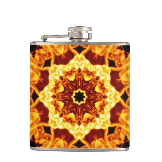 豪華な火のデザインのフラスコ フラスク