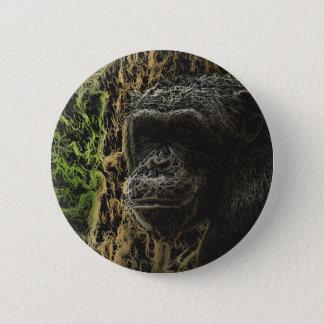豪華な猿の芸術 5.7CM 丸型バッジ