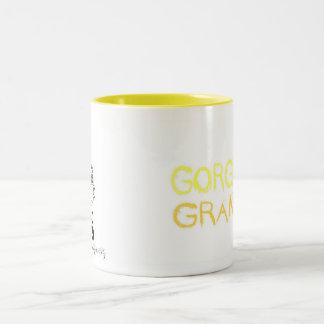 豪華な祖母のマグ ツートーンマグカップ