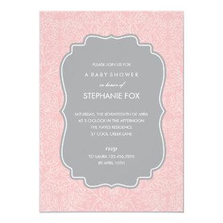 豪華な花のパーティの招待状(シャクヤク) 12.7 X 17.8 インビテーションカード