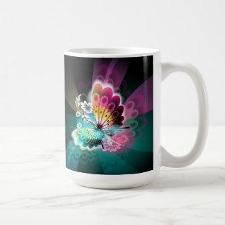 豪華な蝶マグ コーヒーマグカップ