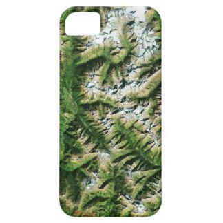 豪華な衛星イメージ(山) Case-Mate iPhone 5 ケース