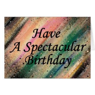 豪華な誕生日を持って下さい カード