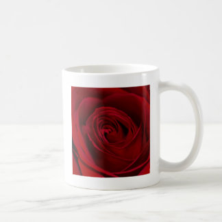 豪華な赤いバラ コーヒーマグカップ