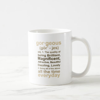 豪華な金ゴールド コーヒーマグカップ