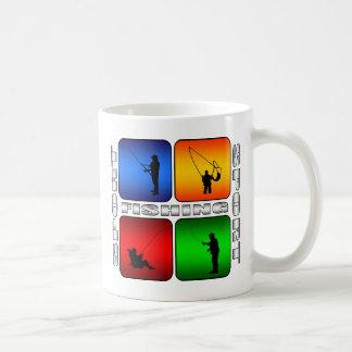 豪華な魚釣り コーヒーマグカップ