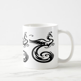 豪華な、野生のフェニックス コーヒーマグカップ
