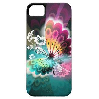 豪華なButterlyのiPhone 5の場合 iPhone SE/5/5s ケース