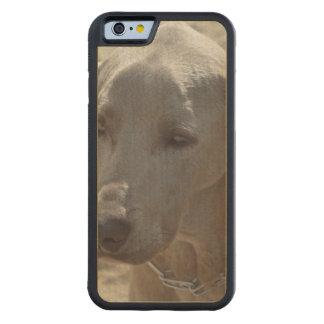 豪華なWeimaraner CarvedメープルiPhone 6バンパーケース