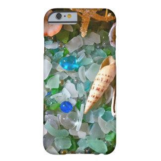 貝およびビーチガラス BARELY THERE iPhone 6 ケース