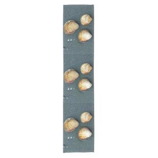 貝のトリオ ショートテーブルランナー
