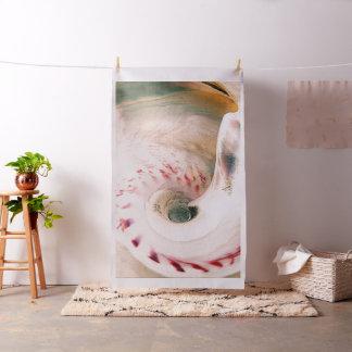 貝のポートレート ファブリック