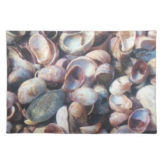 貝のランチョンマット ランチョンマット