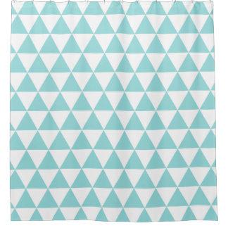 貝の水の粋な三角形のシャワー・カーテン シャワーカーテン