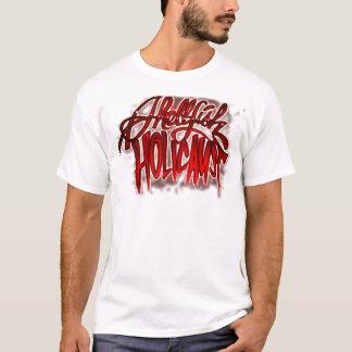 貝のHOLICAUSTによってエアブラシで描かれるTシャツ Tシャツ