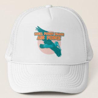 貝ポイントビーチの空軍 キャップ