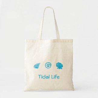 貝殻のトリオの潮生命トートバック トートバッグ