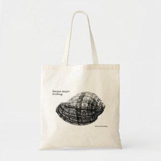 """貝殻のバッグ- """"Harpa専攻のなRoding """" トートバッグ"""