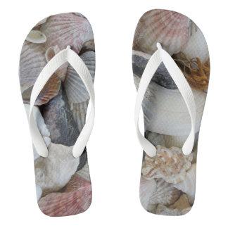 貝殻のビーチサンダル ビーチサンダル
