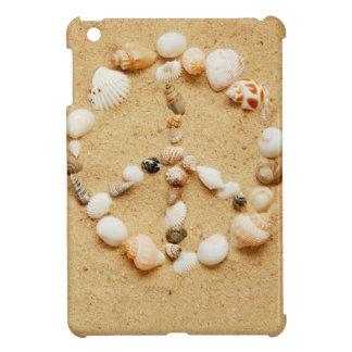 貝殻のピースサイン iPad MINIケース