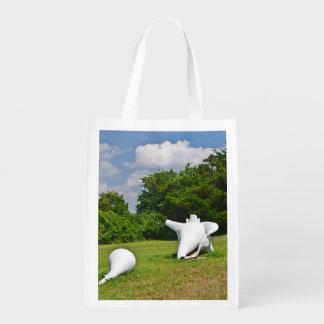 貝殻の市場のバッグ エコバッグ