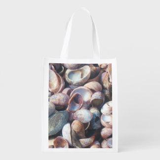 貝殻の買い物袋 エコバッグ