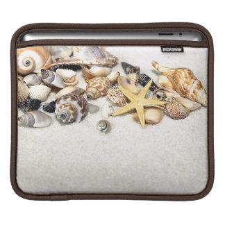 貝殻のiPadの袖 iPadスリーブ
